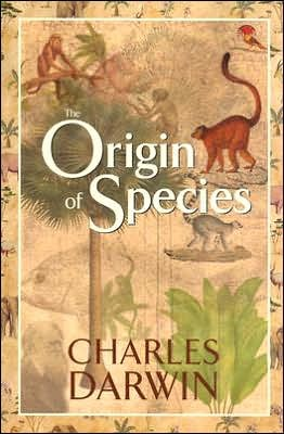 On the Origin of Species by Charles Darwin book cover