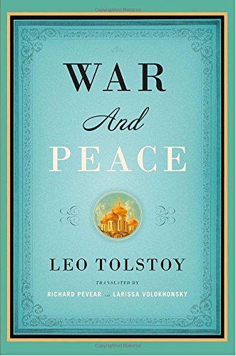 War and Peace by Leo Tolstoy book cover