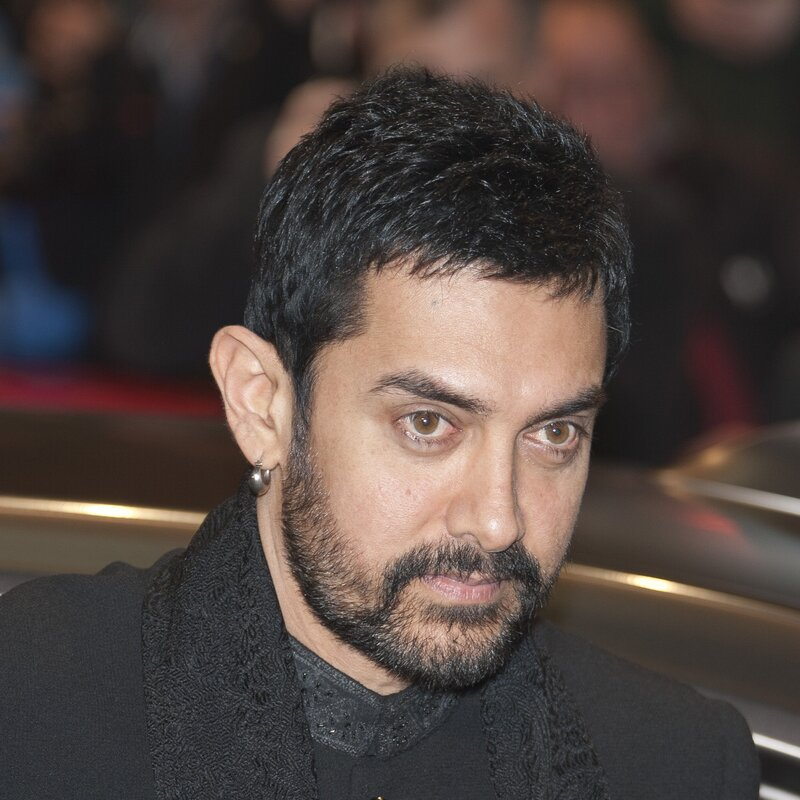 Aamir Khan, Indian actor and director, member of the international jury of the Berlinale 2011, arriving at the premiere of True Grit depicted person: Aamir Khan. Picture taken 10 February 2011