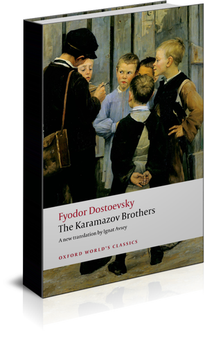 The Karamazov Brothers (1880) book cover