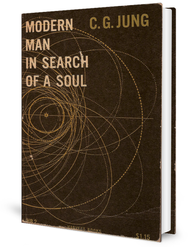 Modern Man in Search of a Soul (1933) by Carl Jung book cover