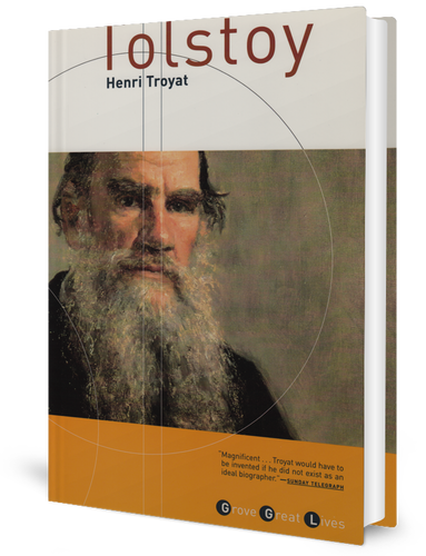 Tolstoy by ​Henri Troyat (1965) book cover