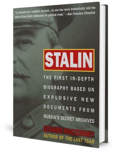 Stalin: The First In-depth Biography Based on Explosive New Documents from Russia's Secret Archives by ​Edvard Radzinsky (1995)​ book cover
