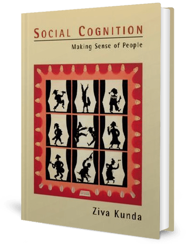 Social Cognition: Ziva Kunda: book cover