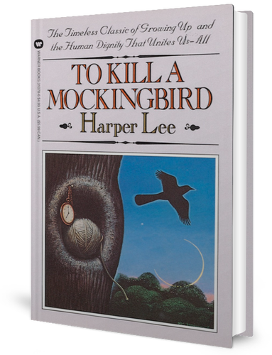 To Kill a Mockingbird by Harper Lee (1960) book cover