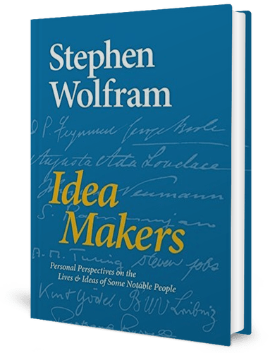 Idea Makers: Personal Perspectives on the Lives & Ideas of Some Notable People: Stephen Wolfram: book cover