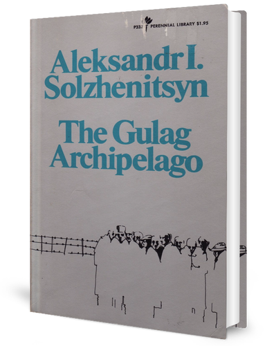 The Gulag Archipelago book cover