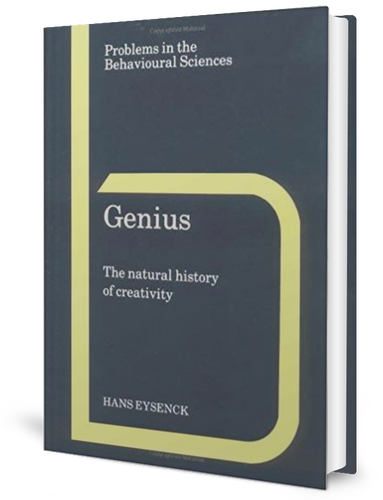 Genius by ​Hans Eysenck (1995) book cover