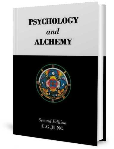 Psychology and Alchemy (1944) by Carl Jung book cover