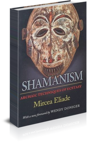 Book cover- Shamanism: Archaic Techniques of Ecstasy (1951) book cover