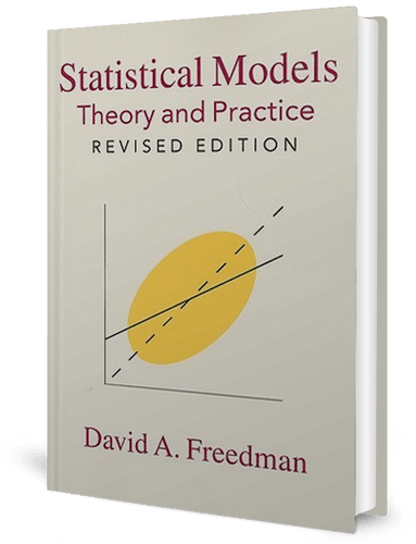Statistical Models: Theory and Practice: David A. Freedman: book cover