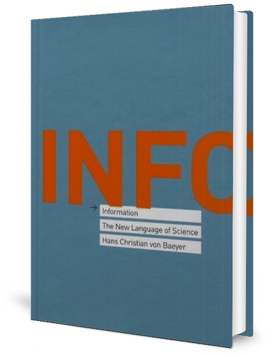 Information: The New Language of Science: Hans Christian Von Baeyer: book cover