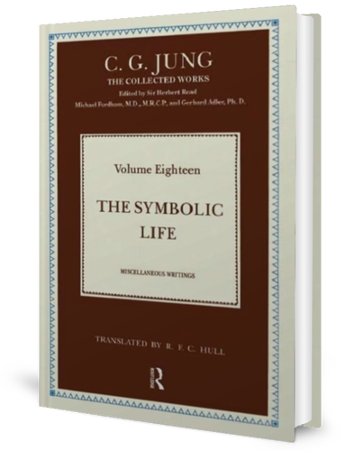 The Symbolic Life is Volume 18 in The Collected Works of C. G. Jung book cover