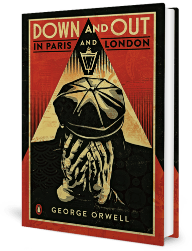 Book cover - Down and Out in Paris and London by George Orwell (1933)