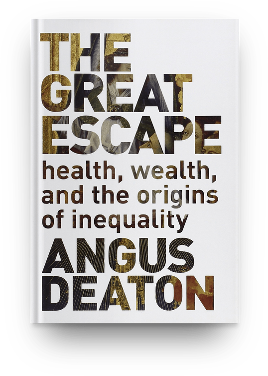 The Great Escape : Health, Wealth, and the Origins of Inequality by Angus Deaton (2013) book cover