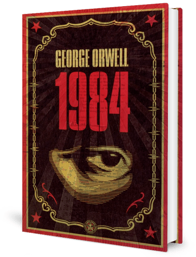 Nineteen Eighty-four (1949) by George Orwell book cover