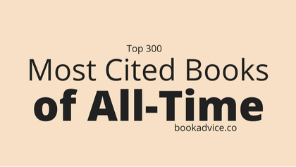 Top 300 Most Cited Books of All-Time