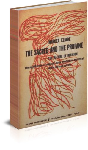 Book cover- The Sacred and the Profane (1957) book cover