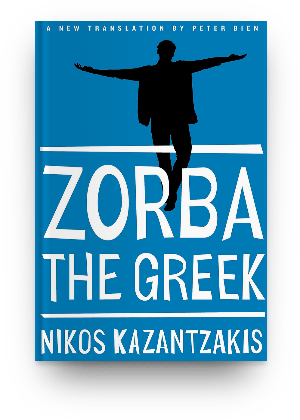 Zorba the Greek (1946) by Nikos Kazantzakis book cover