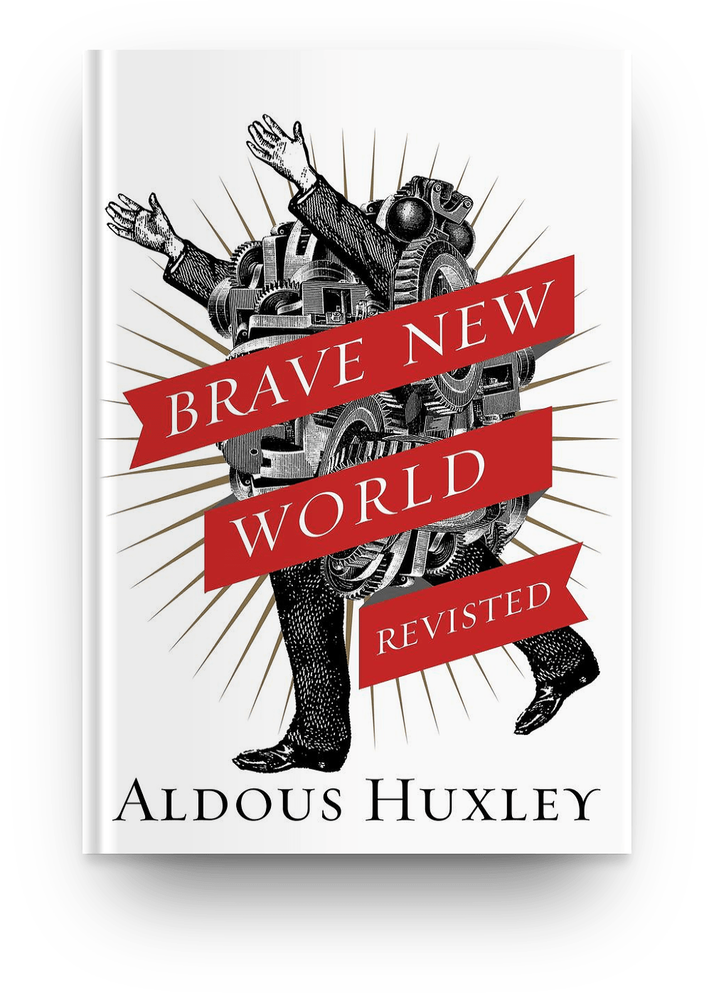 Brave New World (1932) book cover