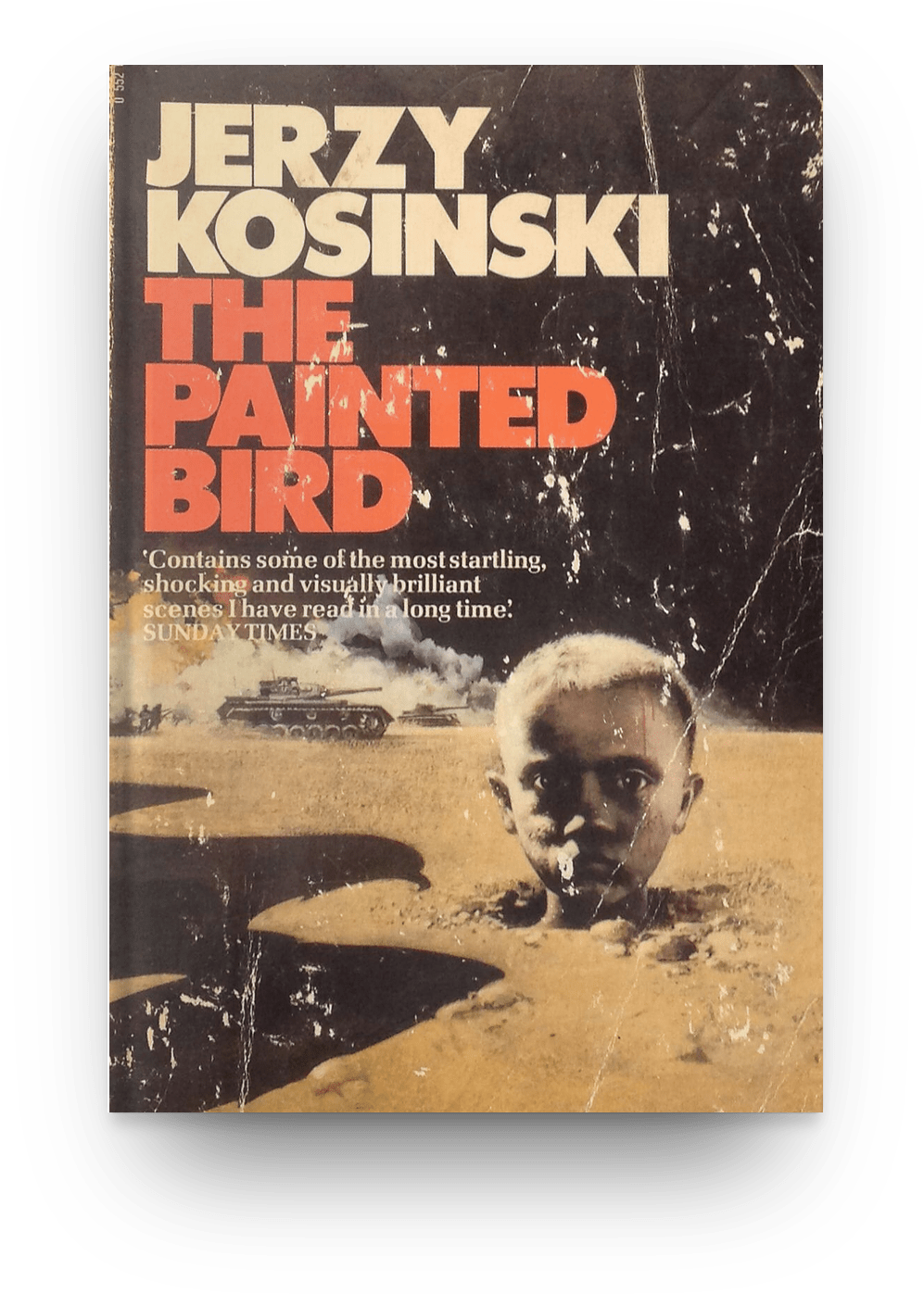 The Painted Bird by ​Jerzy Kosinski (1965) book cover. World War 2 books