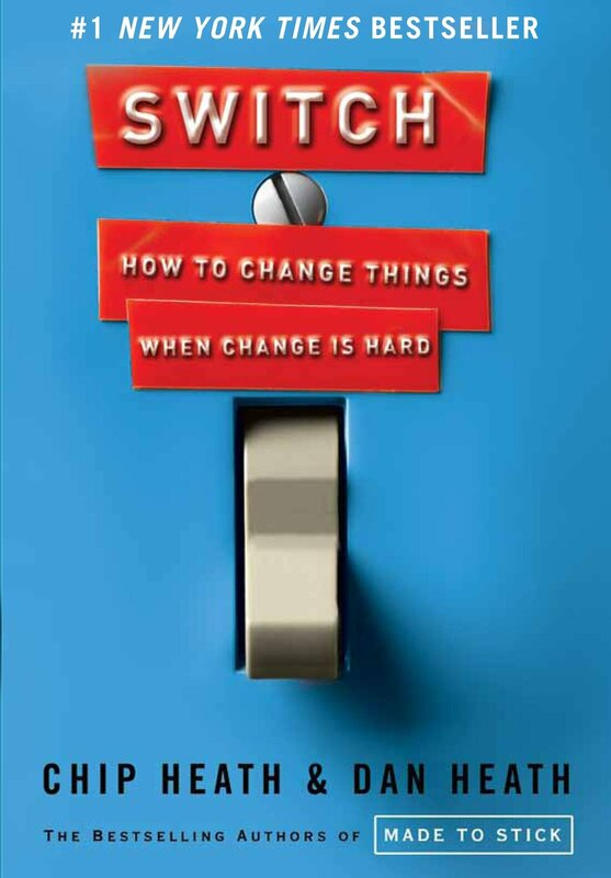 SWITCH: HOW TO CHANGE THINGS WHEN CHANGE IS HARD BY CHIP HEATH​