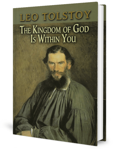 book cover - The Kingdom of God Is Within You by Leo Tolstoy (1893)