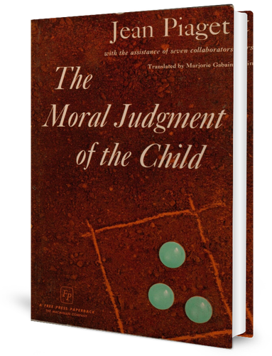 The Moral Judgment of the Child (1932)​ book cover