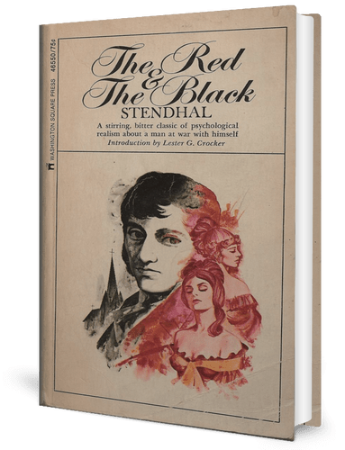 The Red and the Black (1830) by Stendhal book cover