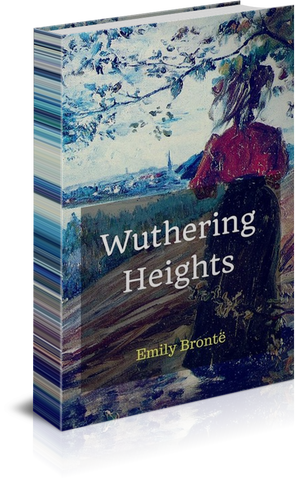 Wuthering Heights by Emily Bronte (1847) book cover